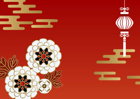 Illustration of Chinese New Year style