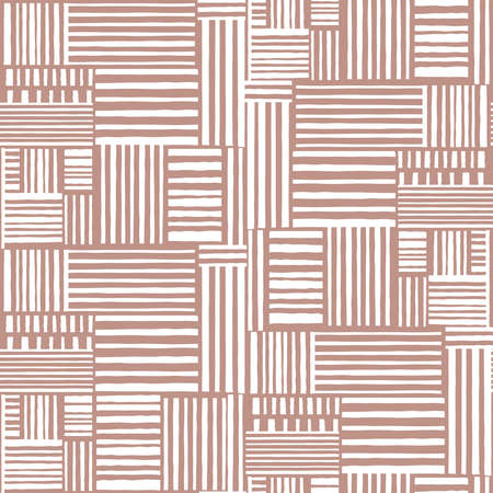 Seamless pattern of hand drawn line. Hand drawn line background. Fabric design. Seamless wallpaper artwork. Vectores
