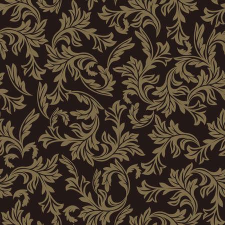Arabesque pattern. Seamless pattern. Material for wallpaper and wrapping paper. Textile design.