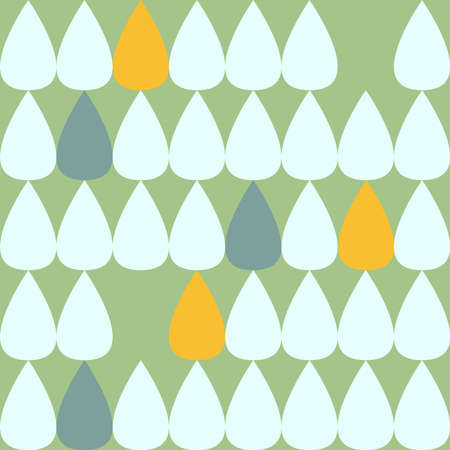 Drop pattern. Seamless pattern. Material for wallpaper and wrapping paper. Textile design.