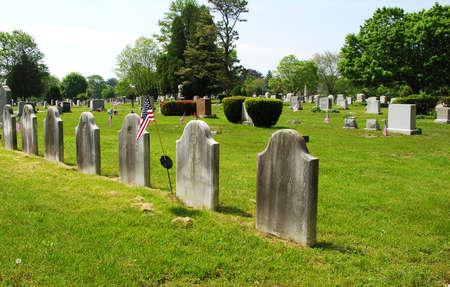 plot: Family burial plot in Dartmouth, Massachusetts