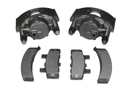 Rebuilt Automotive brake calipers and pads.