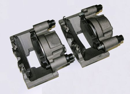 rebuilt: Rebuilt Automotive brake calipers.