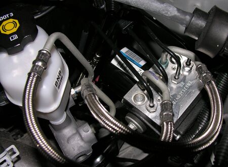 An Automotive Hydraulic ABS Brake System Component