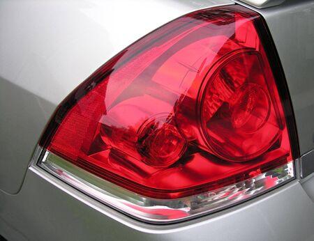 taillight: Taillight lenses on a motor vehicle