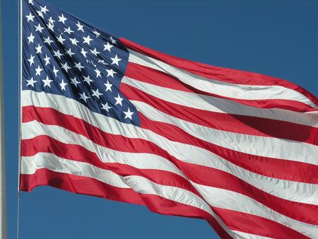 Flag of the United States of America 스톡 콘텐츠