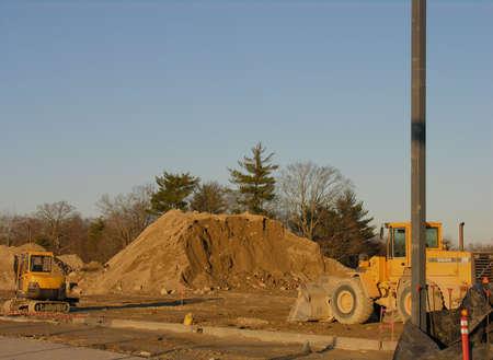 Construction jobsite Reklamní fotografie