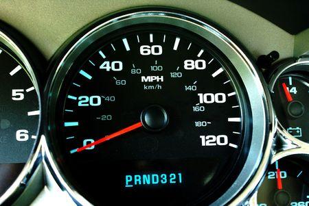 Dash speedometer