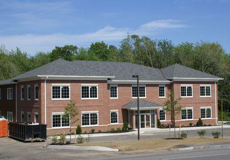 Nieuwe commerciële gebouw. Stockfoto