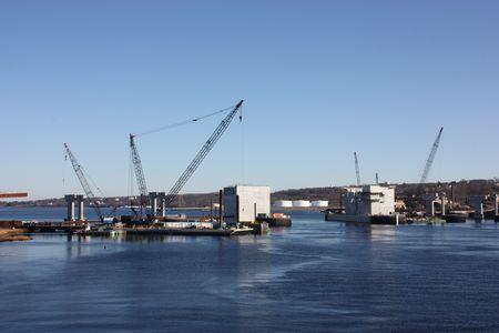 jobsite: New bridge construction.