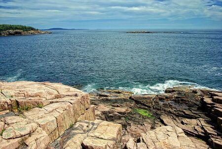 np: Acadia N.P. Maine Stock Photo