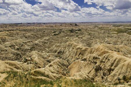 south dakota: Badlands Landscape South Dakota