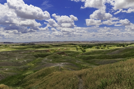 rolling landscapes: Rolling Hills South Dakota