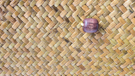 wickerwork: The details of thai hand made basketry taxtures Stock Photo