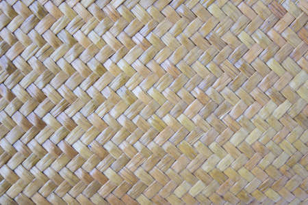 basketry: A details of thai hand made basketry textures Stock Photo