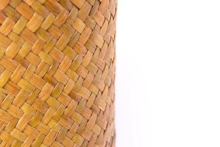 wickerwork: The taxtures of thailand basketry Stock Photo