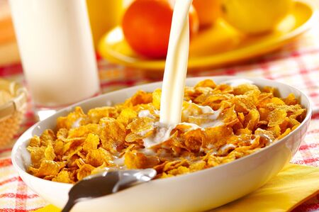 Cornflakes for breakfast