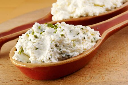 Curd with herbs