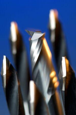 borer: Detail of industrial borer