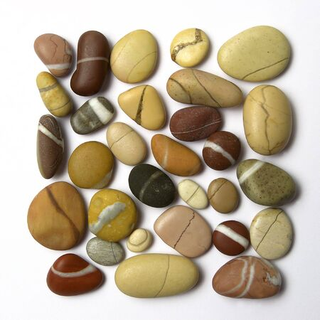Pebbles composition                             Stock Photo