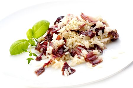 Risotto with red cabbage Stock Photo - 3904157
