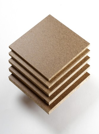 Different sort of Chipboard  Stock Photo