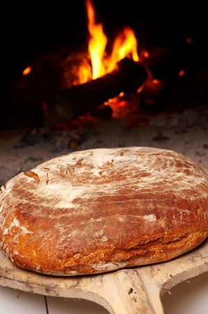 Fresh and crunchy home made bread