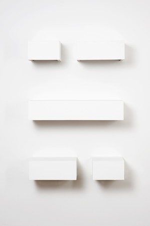 Empty shelves in gallery Stock Photo - 4047914