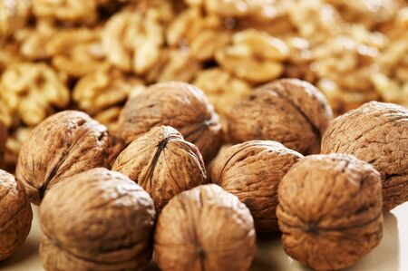 Group of walnut Stock Photo - 4065103