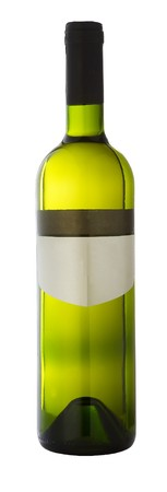 Bottle of white wine Stock Photo - 4065207