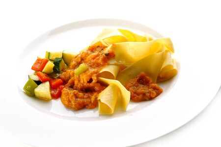 Pasta with different vegetables Stock Photo - 4065217
