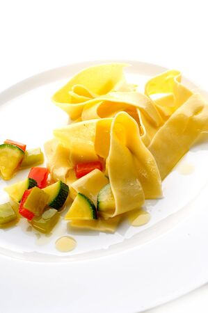 Pasta with different vegetables Stock Photo - 4065220
