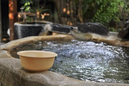 日本温泉 写真素材