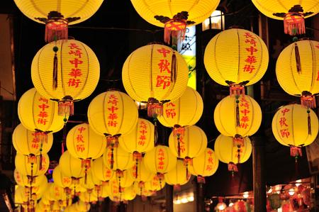 Mid autumn festival in Nagasaki