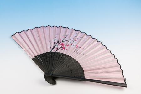 folding: Japanese folding fan Stock Photo