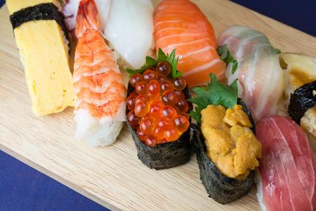 sushi: Japanese Sushi Stock Photo