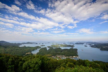 Ninety Nine Islands Kujukushima in Sasebo, Nagasaki, Japan