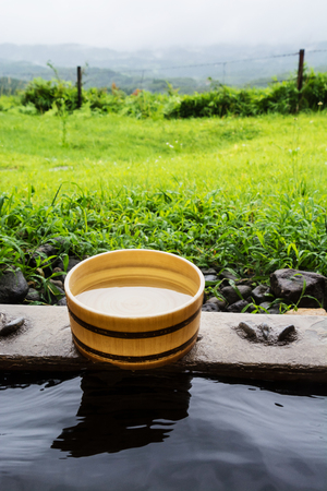 nature cure: Japanese open air hot spa