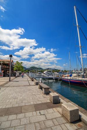 nagasaki: View of Nagasaki bay Stock Photo