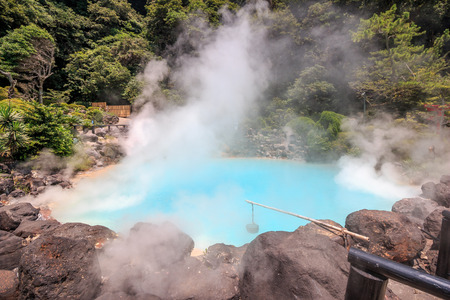 Umi-Zigoku in Beppu, Oita, Japan