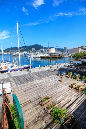 nagasaki: View of Nagasaki bay Editorial