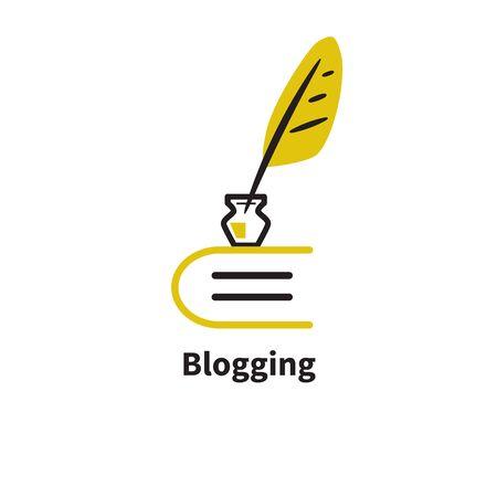 Icon blogging.