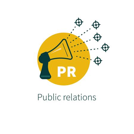 Public relations. Illustration