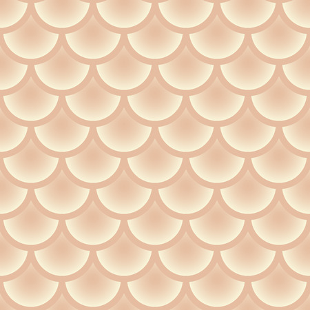 pale cream: Traditional Japanese seamless pattern.