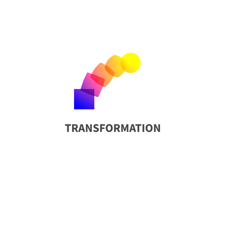 Logo change, transformation.