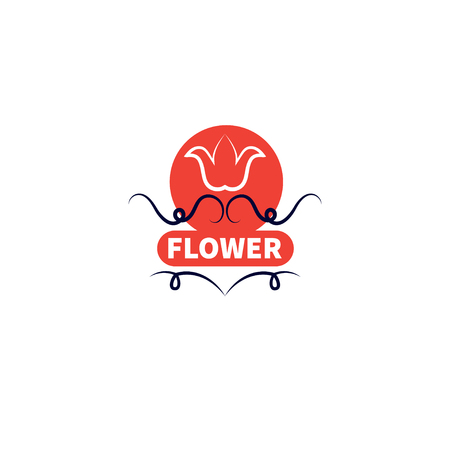 Banner for flower shop Ilustracja