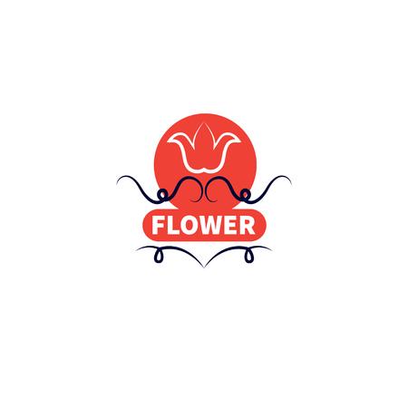 Banner for flower shop Illustration