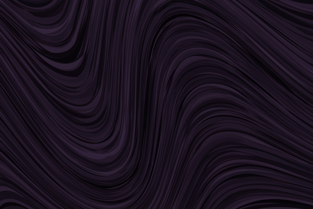 Black banner with waves. Abstract vector hipster modern background, flyer, pattern