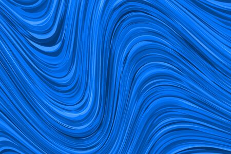 Blue banner with waves. Abstract vector hipster modern background