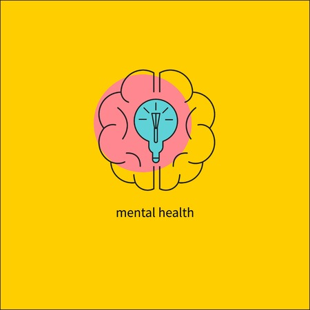 Mental activity of brain